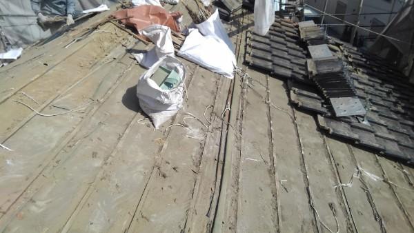 屋根の葺き替え ビフォー